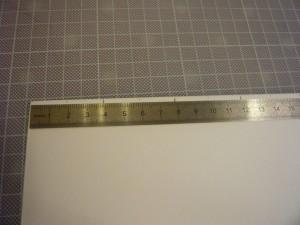 Traits tous les 2 cm / 4 cm