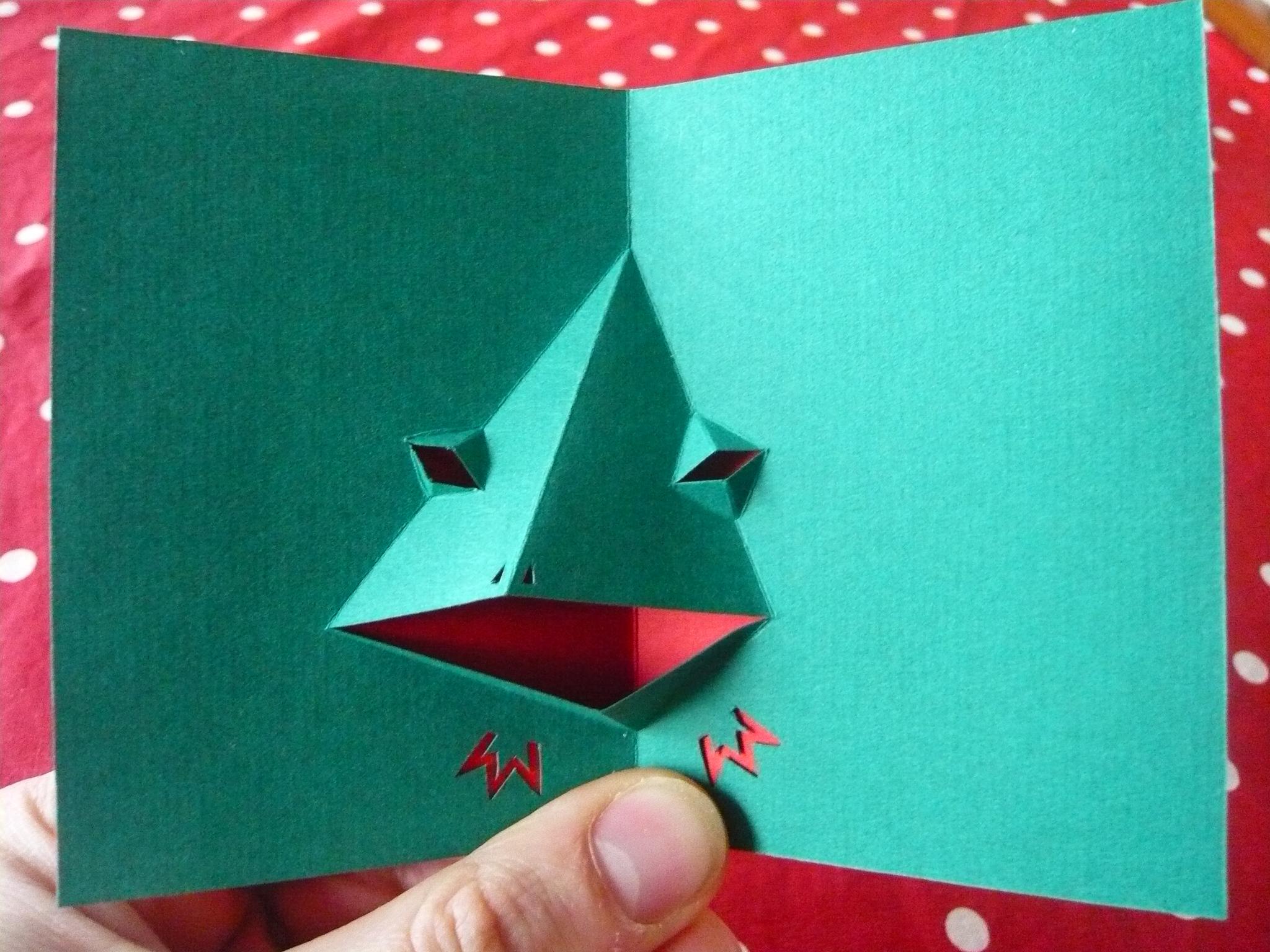Tuto comment fabriquer une grenouille pop up rigolote l 39 art du pop up - Fabriquer carte pop up ...