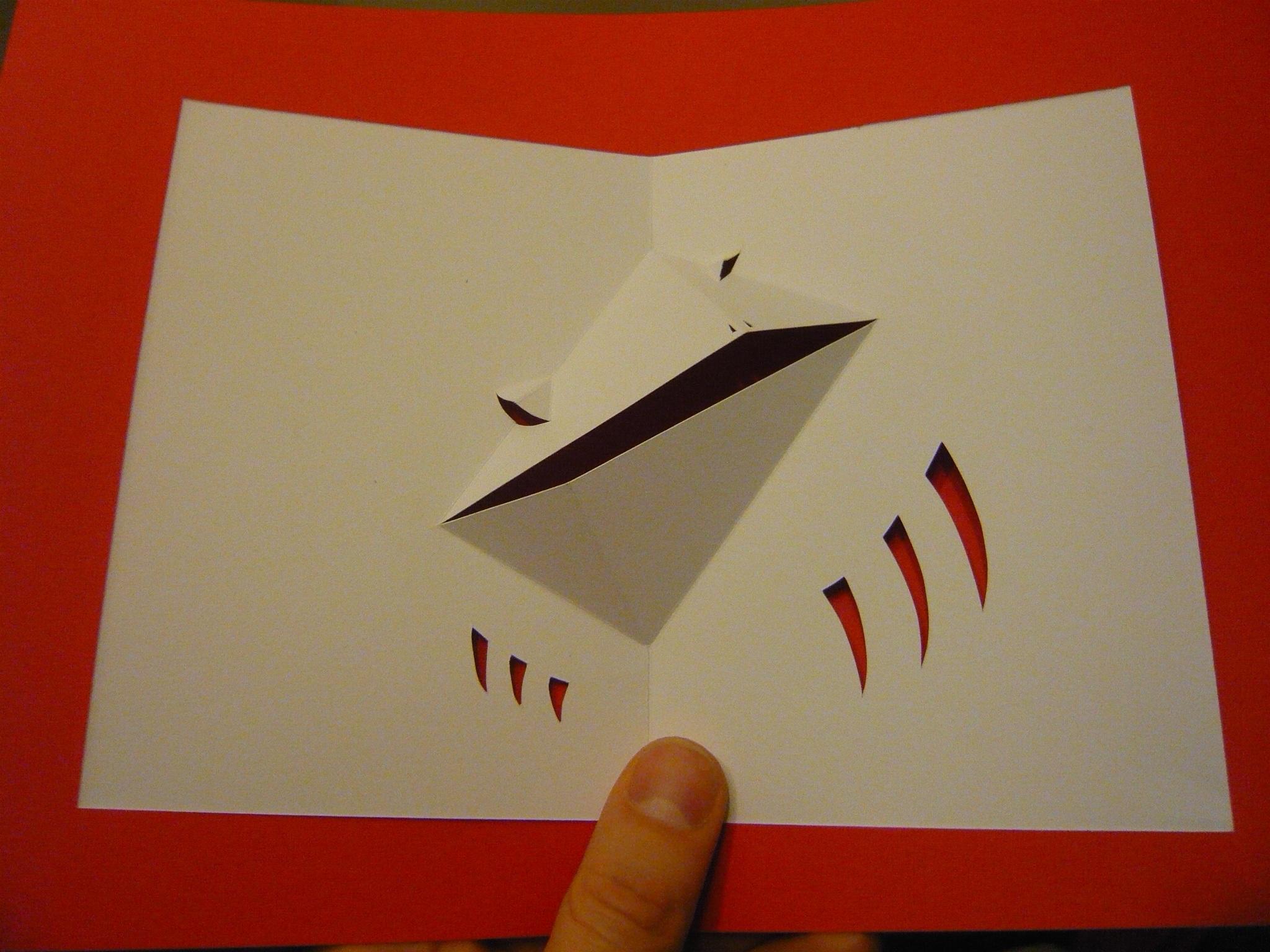 Tutoriel comment fabriquer une grenouille pop up d jant e et unique l 39 art du pop up - Comment faire une grenouille en papier ...